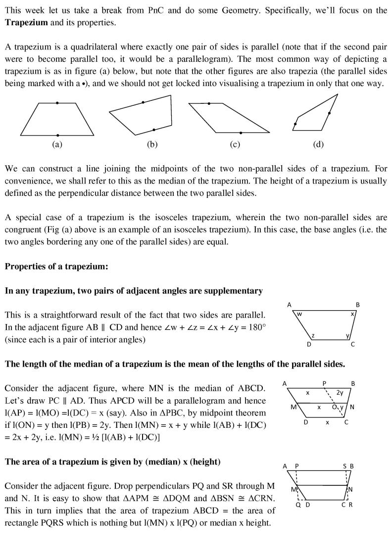 How To Calculate The Area Of A Trapezoid: 5 Steps (with Pictures) The