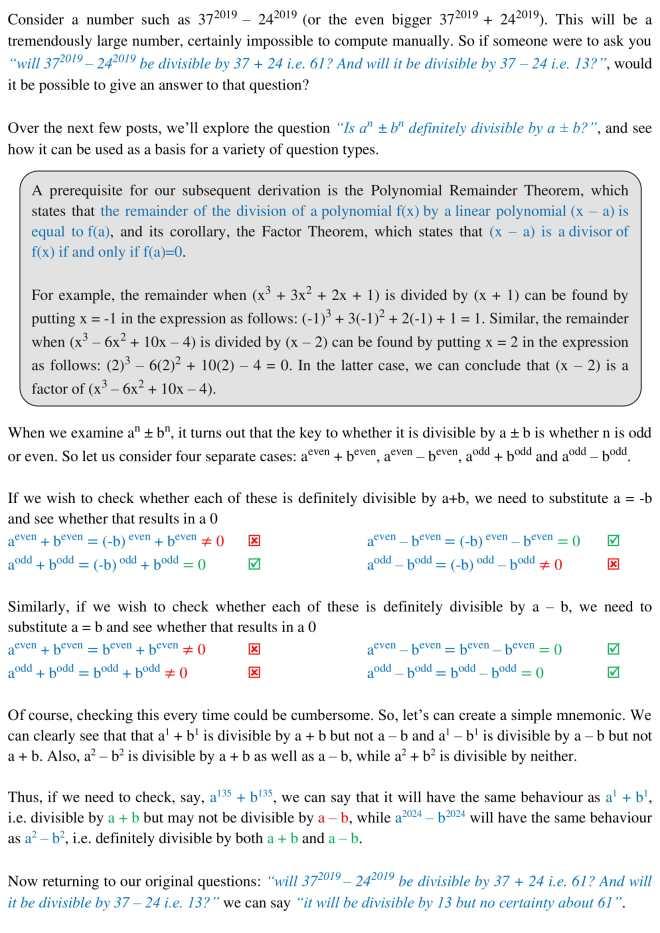 Algebra - 17