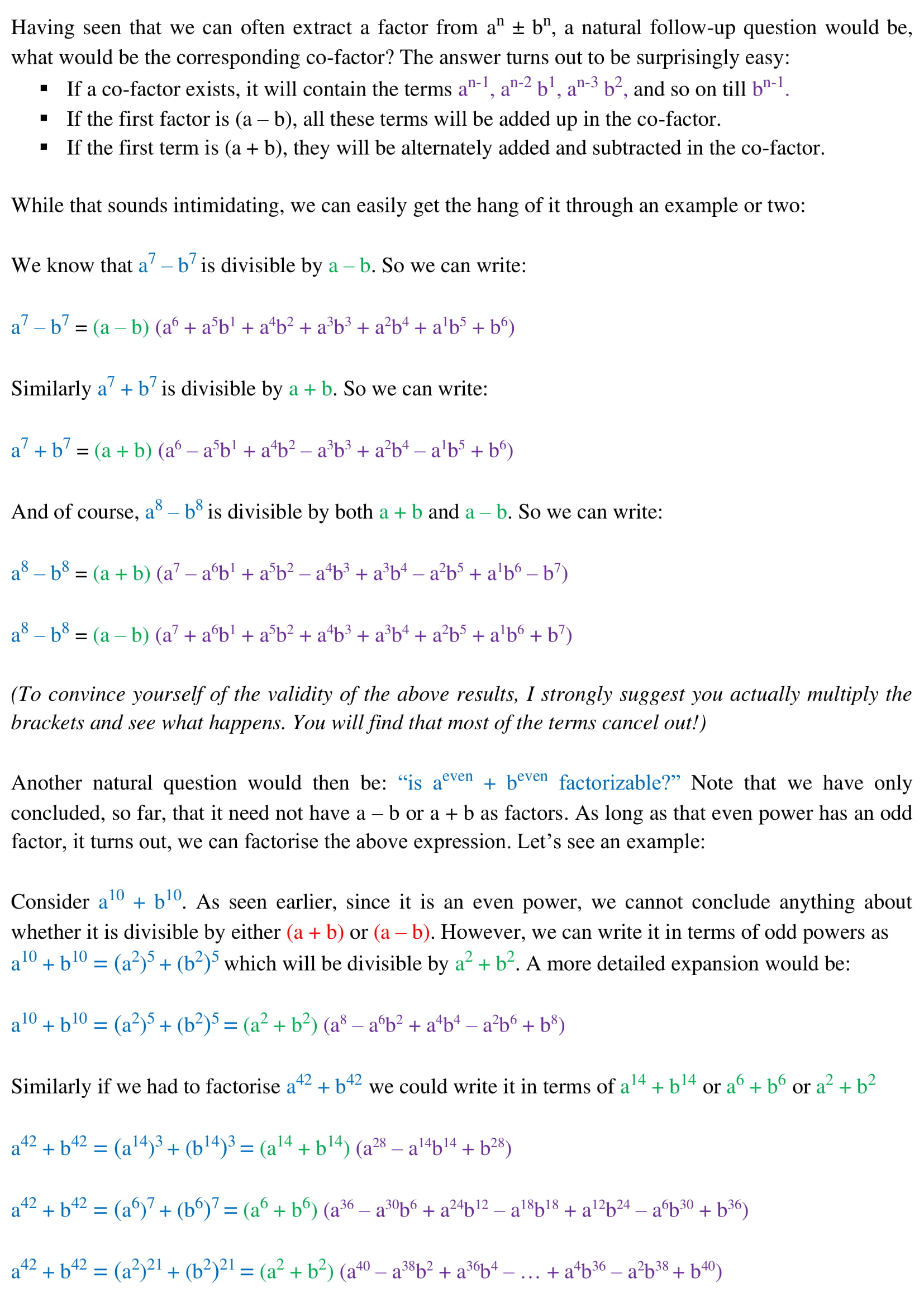 Algebra - 18