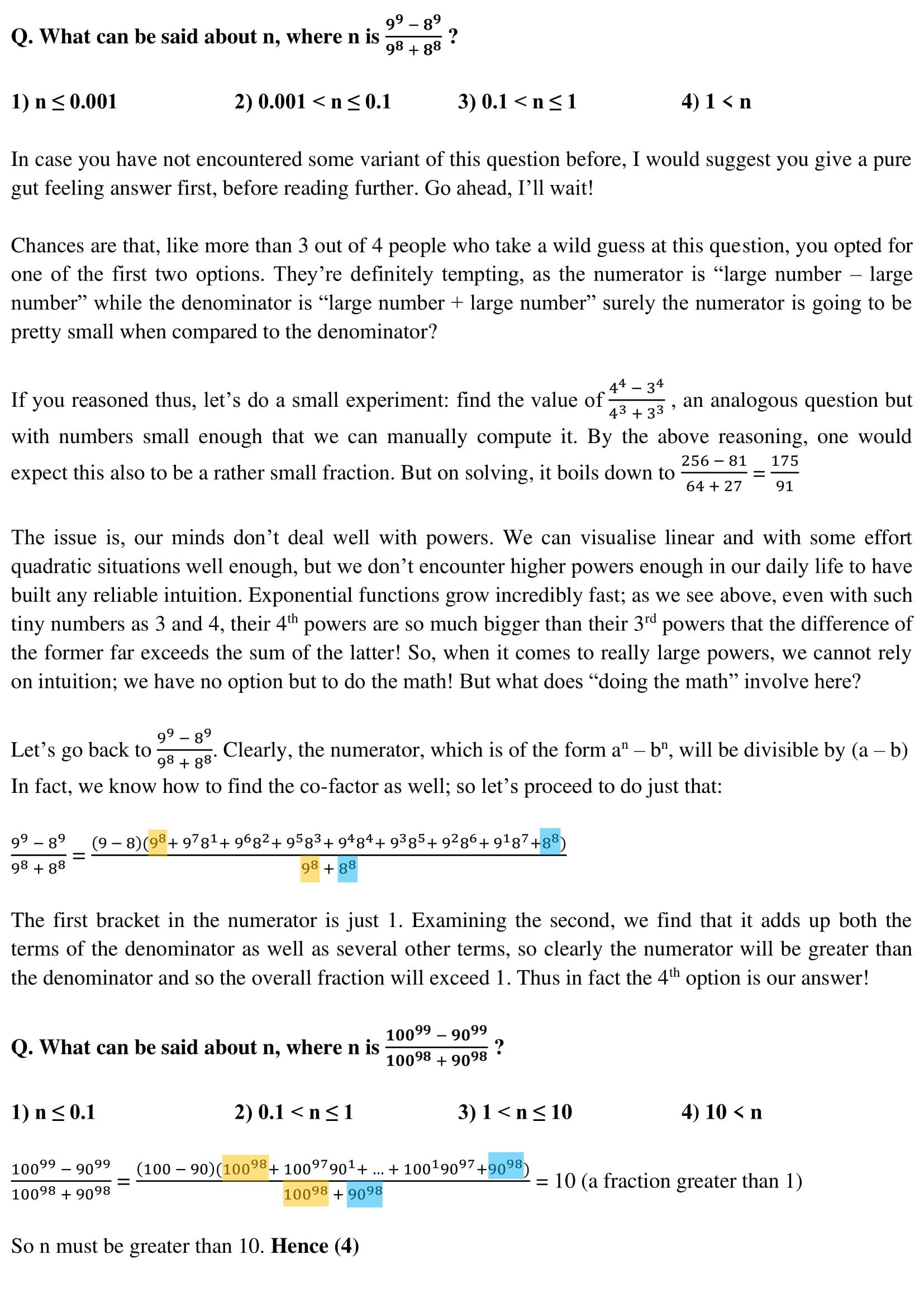 Algebra - 20
