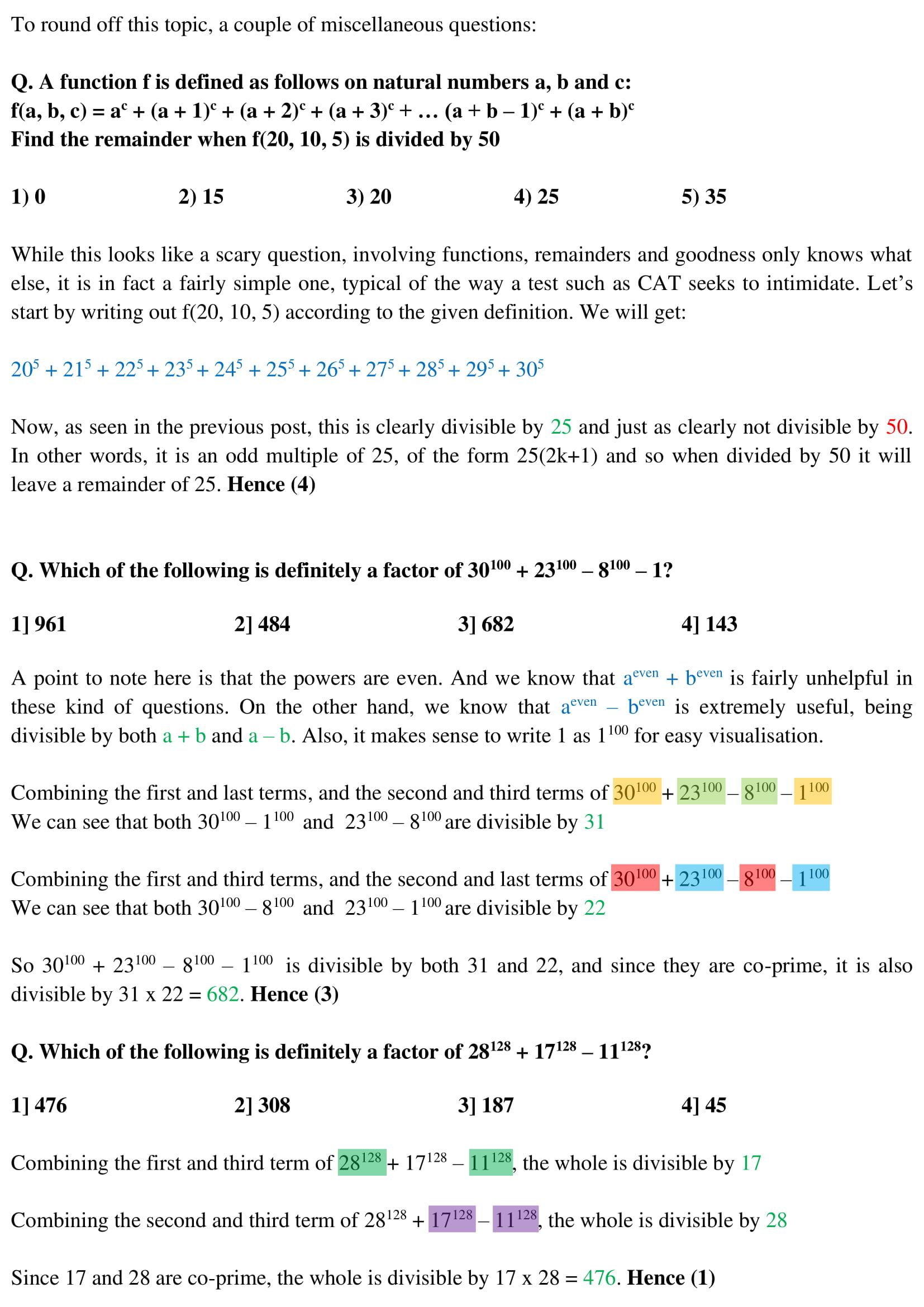 Algebra - 22