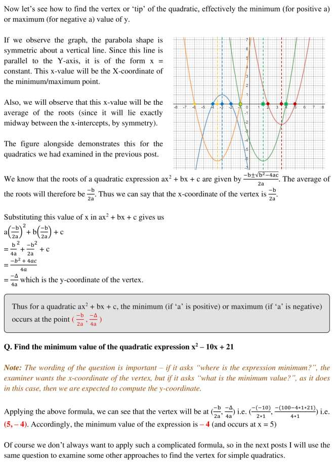 Quadratic Plotting - 4