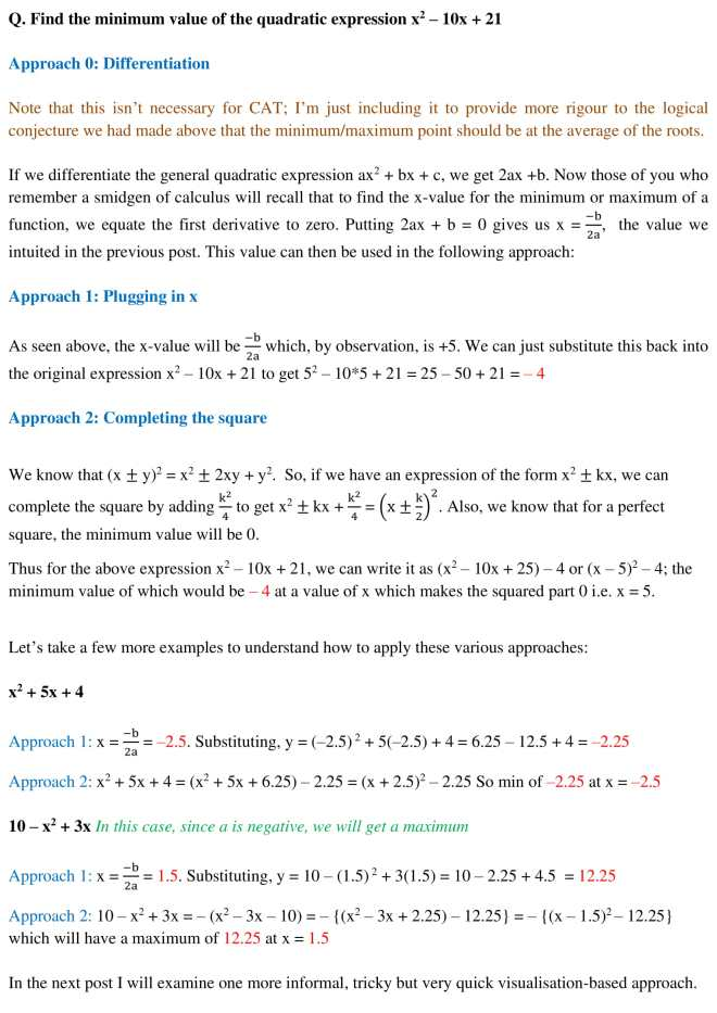 Quadratic Plotting - 5